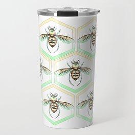 Queen/King Bee Warm Colors Travel Mug