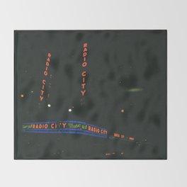 Radio City Music Hall, New York Throw Blanket