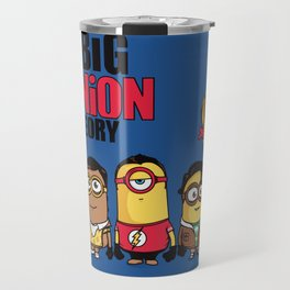 The Big Minion Theory Travel Mug