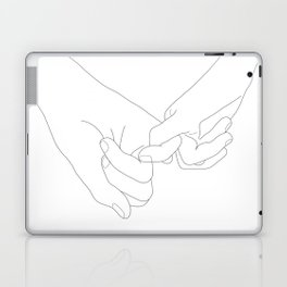 Pinky Promise Laptop & iPad Skin