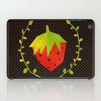 strawberry iPad Cases featuring Strawberry by Strawberringo