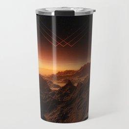 Lost on Mars Travel Mug