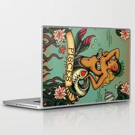 Tattoo Pisces Laptop & iPad Skin
