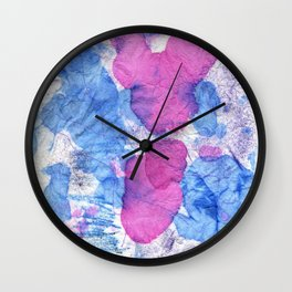bisexual abstract Wall Clock