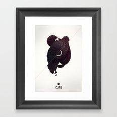 CORE Black Framed Art Print