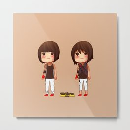 Mirror's Edge Faith Minis Metal Print