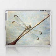Libellule -- Dragonfly Seems Curious Laptop & iPad Skin