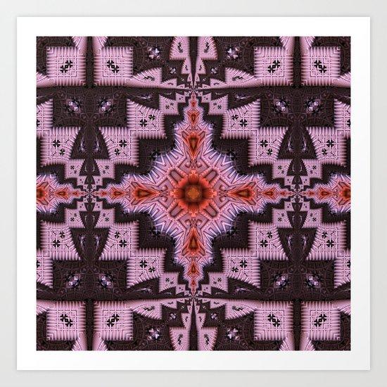 Native Dance Art Print