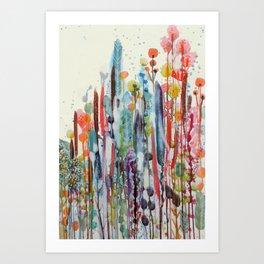 petit jardin 2 Art Print
