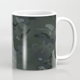 Camouflage: Black Coffee Mug