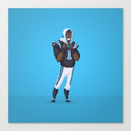 Cam Newton Canvas Print