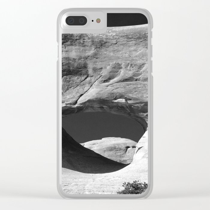 Tunnel Arch View Clear iPhone Case