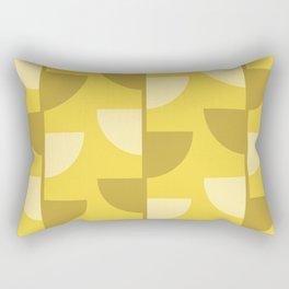 Lemon Slices in the Summer Sun Rectangular Pillow