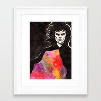 sandman Framed Art Prints featuring Sandman by KrisiGeeArt