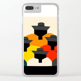 RUNAKUNA (PEOPLE: INDIGENOUS ECUADORIAN ART REINTERPRETATION I) Clear iPhone Case