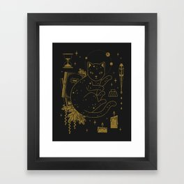 Magical Assistant Framed Art Print