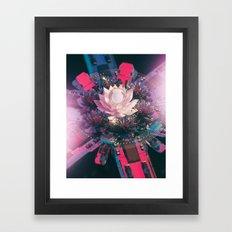 METAL PETAL (everyday 11.11.16) Framed Art Print
