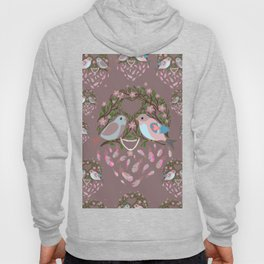 Love is in the air Spring Birds 05 Hoody