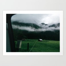 Hallstatt VII Art Print