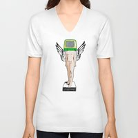 evolution V-neck T-shirts featuring Evolution by Marko Köppe