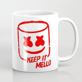 Marshmello - Keep It Mello Red Coffee Mug