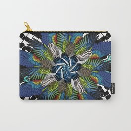 Wing Mosaic Carry-All Pouch