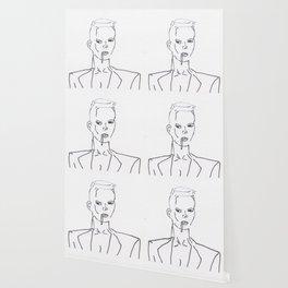 Grace Jones Smoking Wallpaper