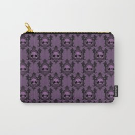 Halloween Damask Violet Carry-All Pouch