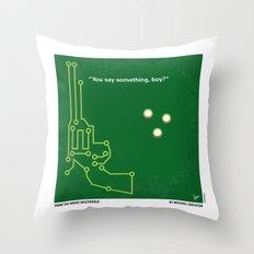 No231 My Westworld minimal movie poster Throw Pillow