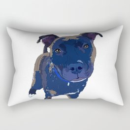 Black Lab Rectangular Pillow