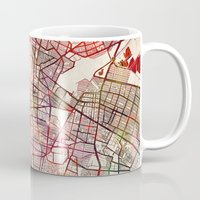 mexico Mugs featuring Mexico by MapMapMaps.Watercolors