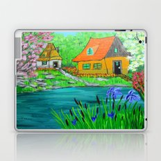 Cottages by the lake  Laptop & iPad Skin