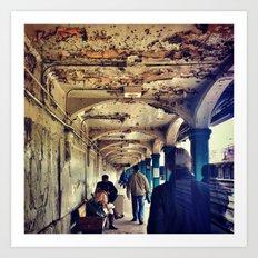 Subway Series No.2 Art Print