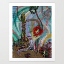 Anchor Roots Art Print