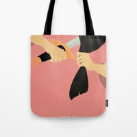 mulan Tote Bags featuring Mulan by magicblood