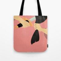 mulan Tote Bags featuring Mulan by magicblood
