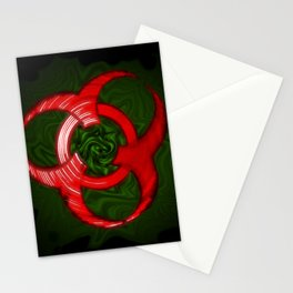 The Living Biohazard Stationery Cards