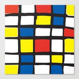 Mondrian Variation 1 Canvas Print