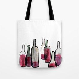 Wine Bottles 2 Tote Bag