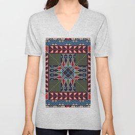 Tatreez pattern Unisex V-Neck