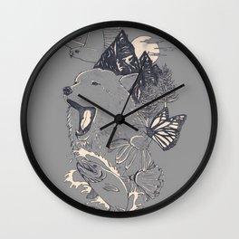 Northern Americana  Wall Clock