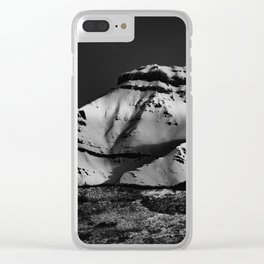 The Mighty Fortress Of Solitude Clear iPhone Case