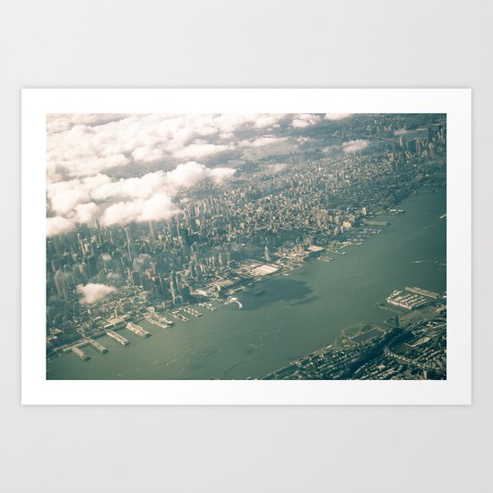 From Above: Manhattan 2 Art Print