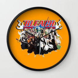 TOGETHER BLEACH Wall Clock
