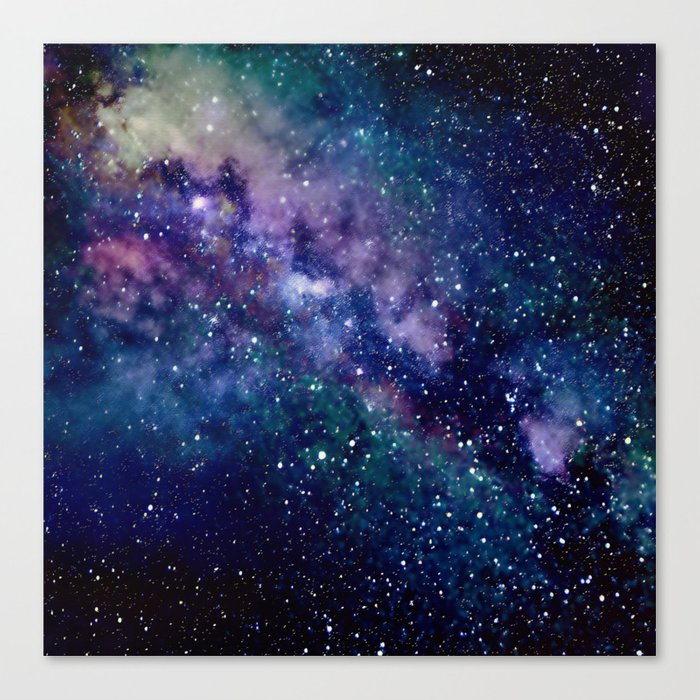 Milky Way Leinwanddruck