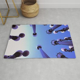 City Lights in the City of Angels Rug