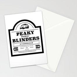 Peaky Fookin' Blinders Stationery Cards