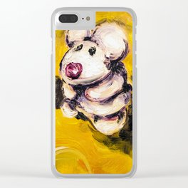 Little Rory on the Big Cheeze Clear iPhone Case