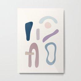 Minimal  Abstract Art 14 Metal Print