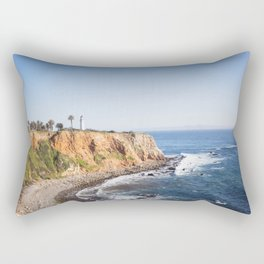 Point Vicente Lighthouse (color version) Rectangular Pillow